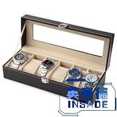 手表收納盒開窗皮革首飾箱高檔手表整理盒【英賽德3C數碼館】