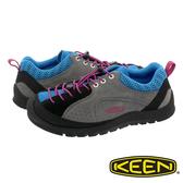 【KEEN】Jasper Rocks SP 男多功能健行鞋『灰/土耳其藍』1019868 健行.戶外.露營.登山鞋.運動鞋