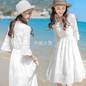 度假長裙沙灘裙女夏2021新款雪紡連衣裙海邊裙 快速出貨 快速出貨 快速出貨