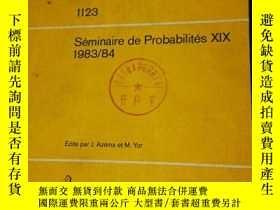二手書博民逛書店Lecture罕見Notes in Mathematics112