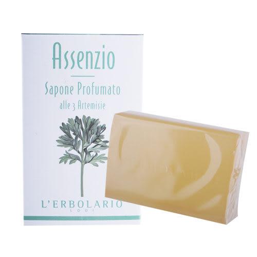 L'ERBOLARIO 蕾莉歐 苦艾淨化保濕植物皂(100g)【美麗購】