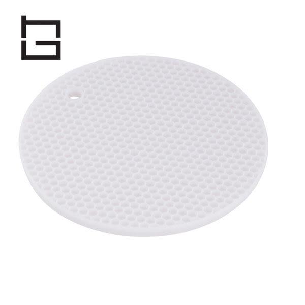 【HG】圓形矽膠隔熱墊 (灰) (現貨+預購)