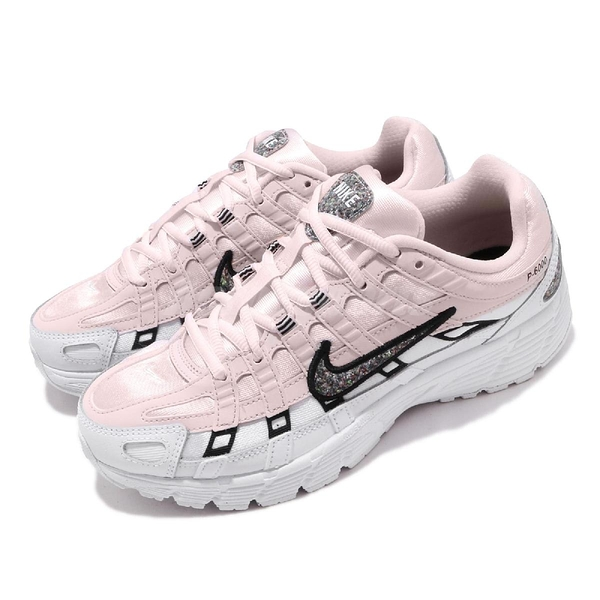 Nike 復古慢跑鞋 P-6000 SE 粉紅 白 女鞋 休閒鞋 復古 運動鞋【ACS】 CJ9585-600