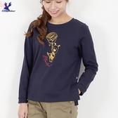 【秋冬新品】American Bluedeer - 花朵鹿長袖T 二色