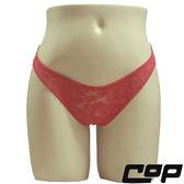 女內褲(COP)F407紅-F-三角