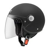 【東門城】ASTONE AJ 素色(平光黑) 半罩式安全帽 小帽體