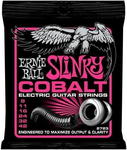 ☆ 唐尼樂器︵☆美國原裝 Ernie Ball 2723 COBALT SLINKY (09-42) 電吉他鈷弦