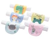 嬰幼兒吸汗巾 純棉紗布紗布巾 卡通造型墊背巾 嬰兒用品 AB01257 好娃娃