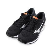 MIZUNO WAVE RIDER WAVEKNIT 3 慢跑鞋 黑白 J1GC192901 男鞋