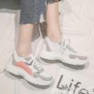 休閒鞋 2021春季新款老爹運動鞋女韓版學生跑步百搭休閒板鞋帆布鞋 小天使 618