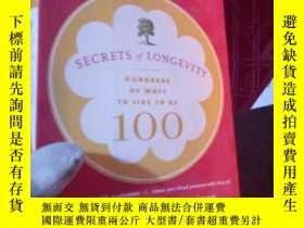 二手書博民逛書店Secrets罕見of Longevity: Hundreds
