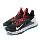 Nike 籃球鞋 LeBron Witness IV EP 黑 白 男鞋 運動鞋 【ACS】 CD0188-005