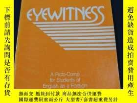 二手書博民逛書店EYEWITNESS罕見A Picto-Comp for students of english as a for