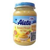 德國 Alete 香蕉桃子大米泥190g[衛立兒生活館]