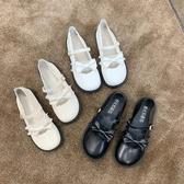 日繫lolita洛麗塔花邊軟妹鞋瑪麗珍低跟jk制服圓頭小皮鞋少女lo鞋 韓國時尚週