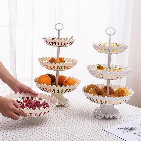 現代客廳家用水果籃歐式果盤水果盤創意時尚干果點《微愛》