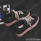 帆布鞋 黑色布鞋夏季休閒2020秋季新款帆布女鞋韓版百搭學生潮鞋小白板鞋 印象