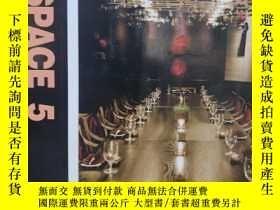 二手書博民逛書店NEW罕見SPACE 5 Cafe&Restaurant(新空間
