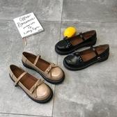 娃娃鞋日系洛麗塔lolita厚底女鞋可愛圓頭娃娃鞋原宿學院風軟妹小皮鞋女 聖誕交換禮物