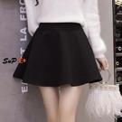 毛呢短裙 半身裙 短裙 冬裙 短款 外穿 毛呢 蓬蓬裙