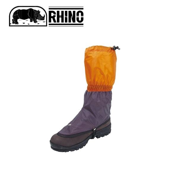 【RHINO 犀牛 犀牛中型超輕綁腿《橘黃/黑》】703/腿套/登山/防水