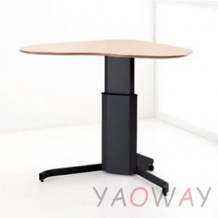 【耀偉】丹麥Conset-電動升降桌501-7經濟移動桌(工作桌/NB桌/移動工作站/側桌/講台/洽談桌/書桌)