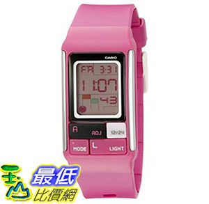 [美國直購] 手錶 Casio Kids LDF-52-4ADR Poptone Digital Display Quartz Pink Watch