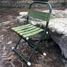 【免運】折疊椅 背靠 加厚 輕便穩固 便攜式小板凳 戶外垂釣椅 伸縮椅子 釣魚馬紮 露營折疊凳
