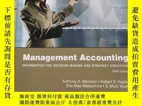 二手書博民逛書店Management罕見Accounting Sixth EditionY23470 PEARSON PEAR
