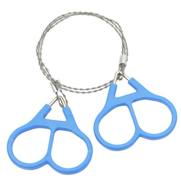 手拉鋼絲鋸戶外求生線鋸手工鋸繩鋸萬能線鋸子超細口