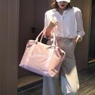 旅行包 韓版旅行包女手提輕便收納行李包短途大容量出門旅游外出差行李袋 伊衫風尚