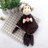 寶寶安撫巾玩具方形口水巾嬰幼兒童可入口6-12個月陪睡毛絨手玩偶 歐韓時代