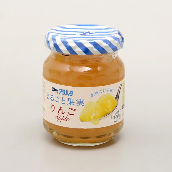 日本【Aohata】 蘋果果醬(無蔗糖) 125g(賞味期限:2019.11.28)