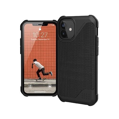 """美國軍規 UAG iPhone12 mini """"5.4"""" (2020) 耐衝擊保護殼都會款 - 軍用黑 強強滾"""