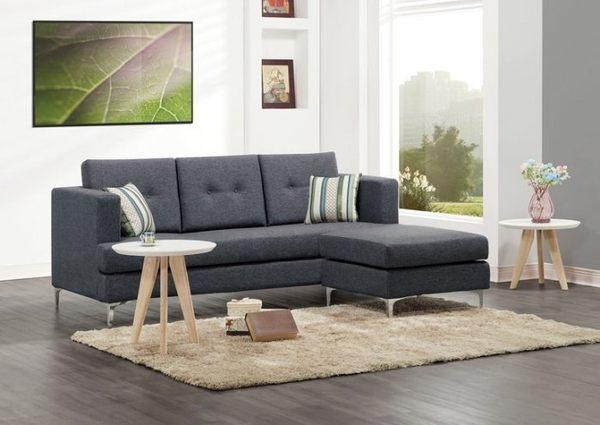 【新北大】✪ C336-3 樂多L型布沙發 (全組)(附抱枕) -18購