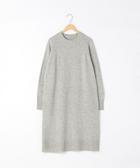 小羔羊 長版毛衣 圓領 洋裝 可手洗 日本品牌【coen】