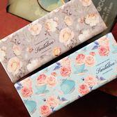 交換禮物-眼鏡盒女正韓小清新創意太陽鏡盒墨鏡盒薔薇花復古文藝眼睛盒包
