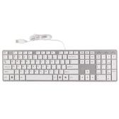 台式電腦筆記本外接白色超薄靜音有線usb游戲家用辦公巧克力鍵盤·享家生活馆 YTL