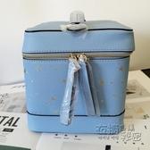 19秋季藍色星座化妝箱手提包/收納箱/化妝包  衣櫥秘密