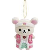 【拉拉熊桃太郎吊飾】拉拉熊 桃太郎 吊飾 娃娃 懶妹 日本正版 該該貝比日本精品