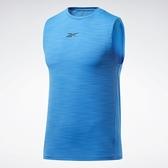 REEBOK Activchill 男裝 背心 慢跑 訓練 涼感 透氣 藍【運動世界】FU2917