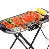 烤肉架家用電炭雙用無煙烤肉架子溫度可調支架爐街頭潮人