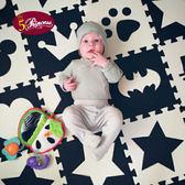 明德寶寶爬行墊拼接拼圖加厚嬰兒爬爬墊客廳兒童泡沫地墊臥室床邊
