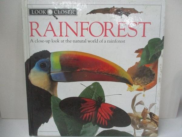 【書寶二手書T7/動植物_DOU】Rainforest (Look closer)_Barbara Taylor