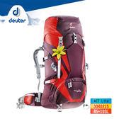 deuter ACT Lite輕量拔熱式透氣背包3340215(45+10L) / 城市綠洲 (登山背包、運動旅遊、德國品牌)