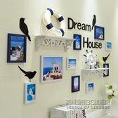 照片牆貼紙相框牆客廳創意裝飾相框掛牆組合 IGO