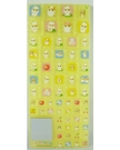 【震撼精品百貨】CorocoroKuririn 可樂鈴天竺鼠~硬貼紙『正方形/星星/愛心』(共3款)