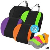 【源之氣】竹炭可調式記憶護腰靠墊/四色可選(黑/橘/紫/綠) RM-9460《買就送 竹炭鮮彩船型襪》