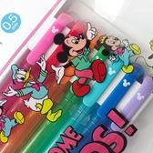 又敗家@日本UNI迪士尼DISNEY米妮米奇自動色鉛筆7色組M5-152CDS 7C彩色鉛筆自動0.5mm鉛筆Micky