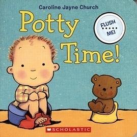 【訓練上廁所的聲音書】POTTY TIME /聲音書
